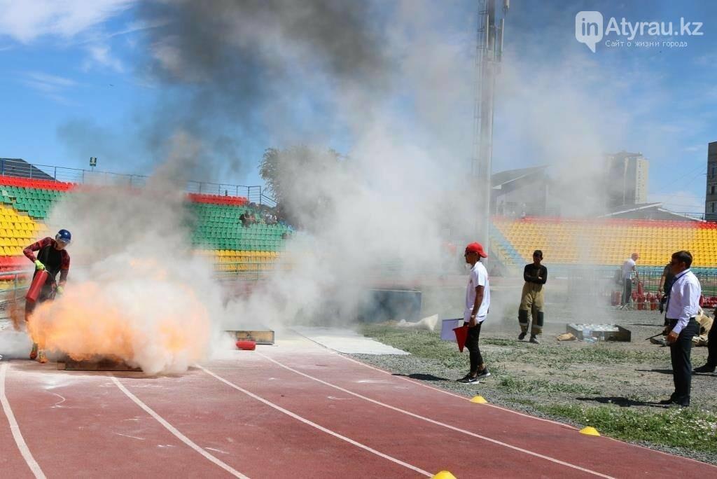 В Атырау назвали победителей в пожарной эстафете чемпионата РК , фото-3
