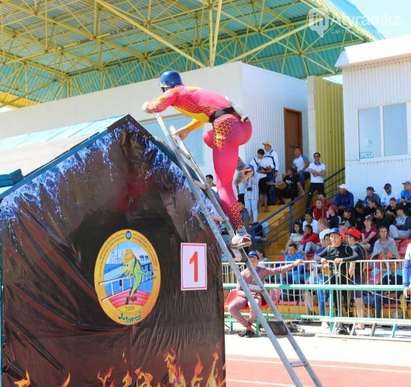 В Атырау назвали победителей в пожарной эстафете чемпионата РК , фото-1