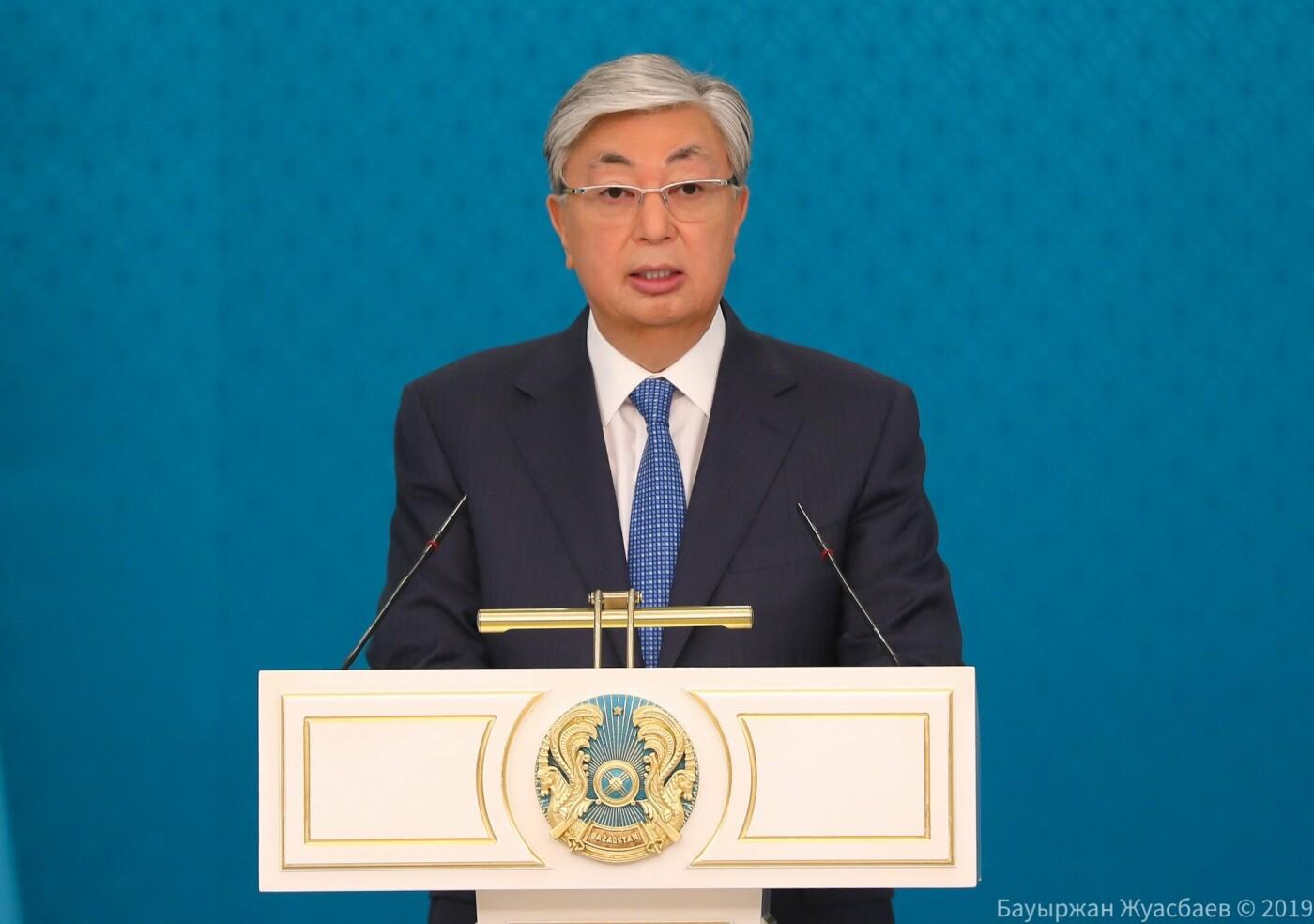 Президент Казахстана Токаев вручил награды защитникам Отечества, фото-1