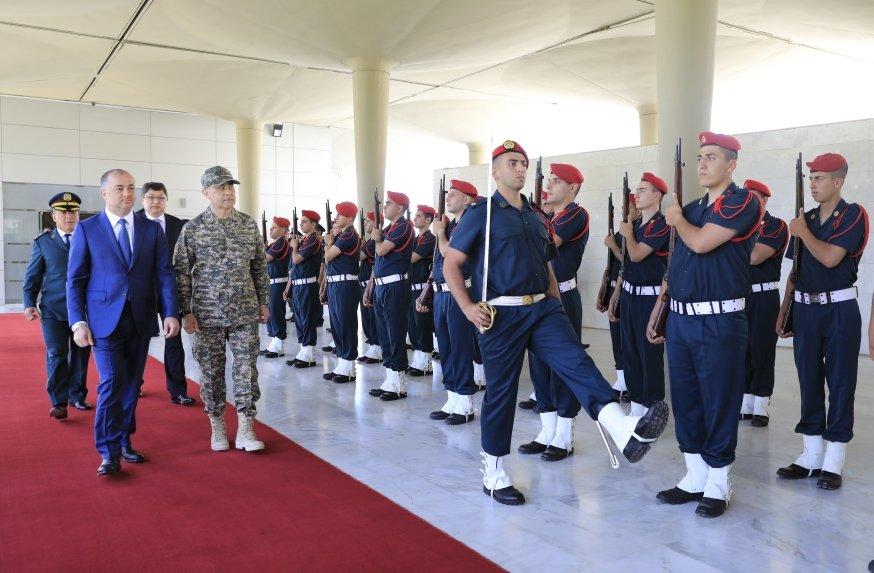 Министр обороны Казахстана посетил с рабочим визитом  Ливанскую Республику, фото-1, Фото: Источник  mod.gov.kz