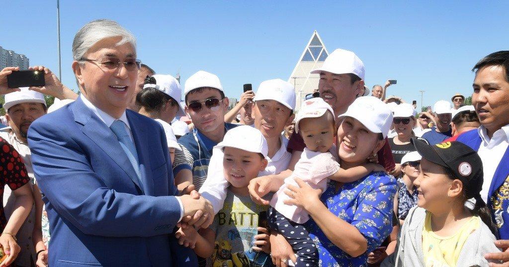 Токаев поддержал инициативу проведения уроков домбры в школах (ФОТО), фото-6