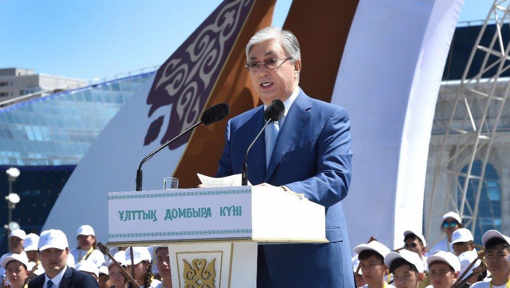 Токаев поддержал инициативу проведения уроков домбры в школах (ФОТО), фото-11