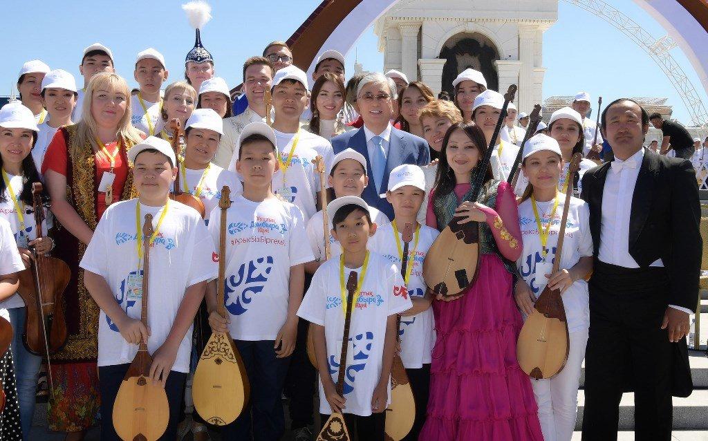 Токаев поддержал инициативу проведения уроков домбры в школах (ФОТО), фото-4