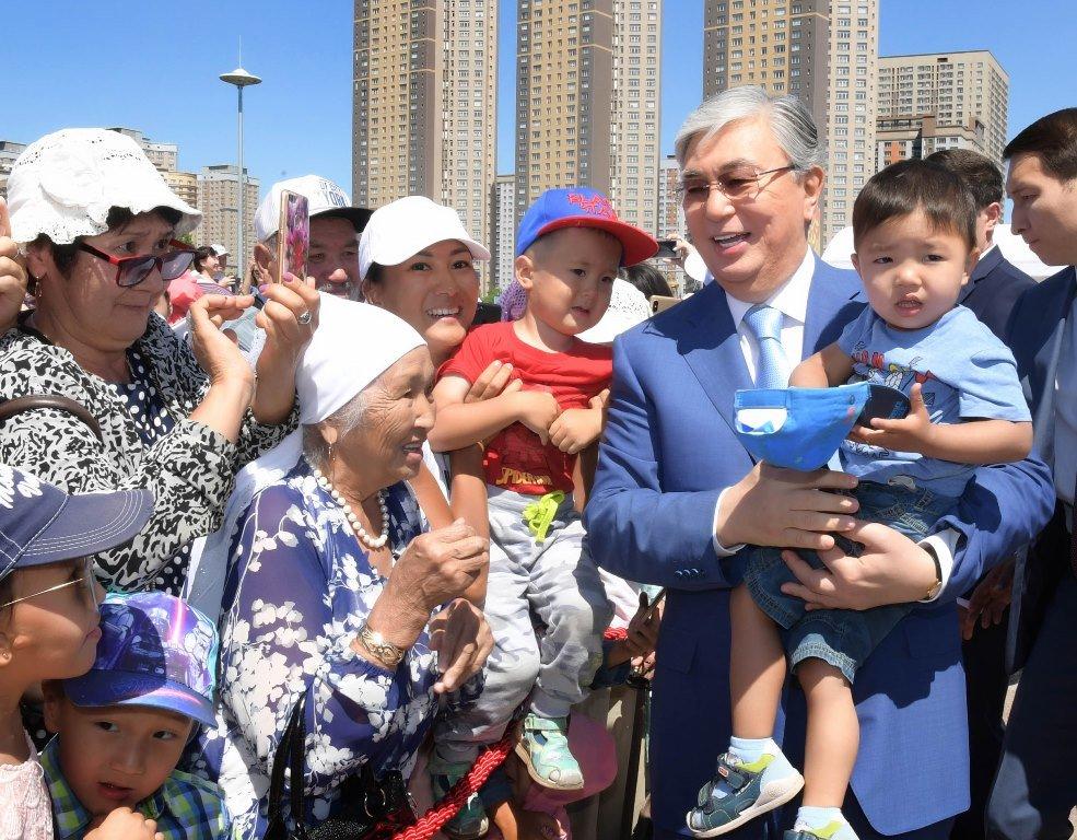 Токаев поддержал инициативу проведения уроков домбры в школах (ФОТО), фото-7
