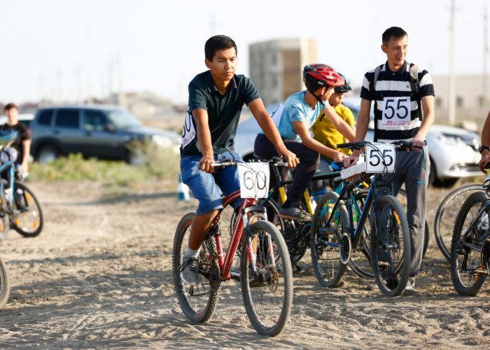 В Атырау впервые состоялось открытое первенство по велокроссу, фото-1
