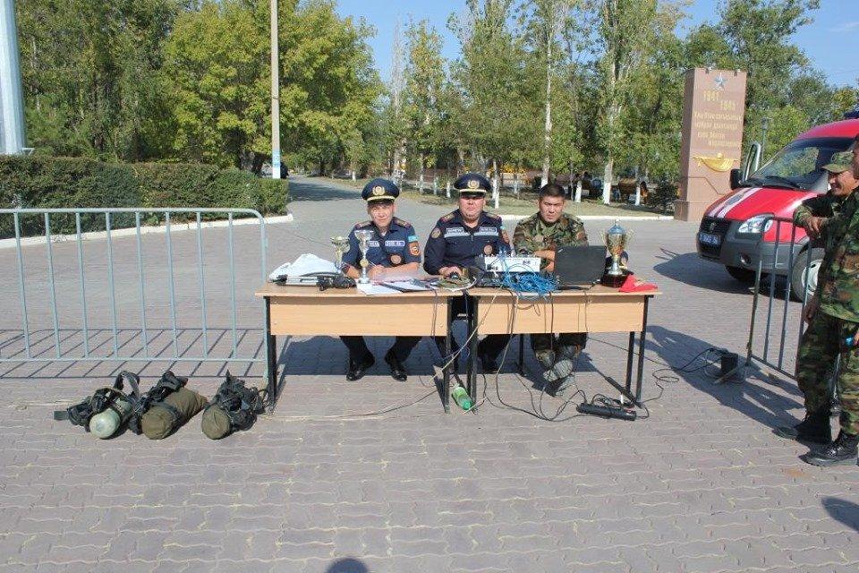 Пожарные устроили соревнование по кроссфиту в Атырау (фото), фото-10