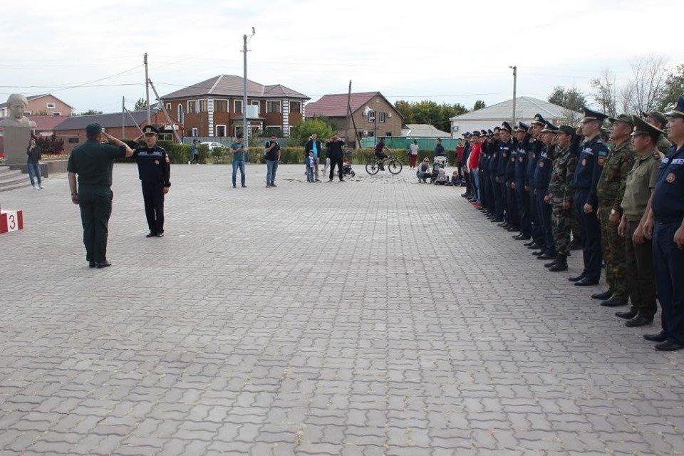 Пожарные устроили соревнование по кроссфиту в Атырау (фото), фото-11