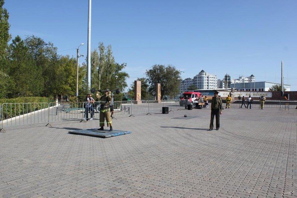 Пожарные устроили соревнование по кроссфиту в Атырау (фото), фото-9