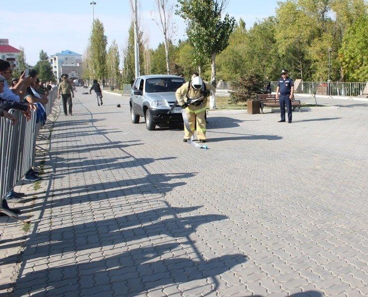 Пожарные устроили соревнование по кроссфиту в Атырау (фото), фото-7