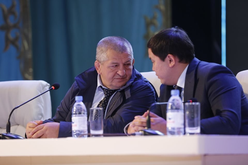 Отец и тренер Хабиба Нурмагомедова встретился с молодежью Атырау (фото), фото-3
