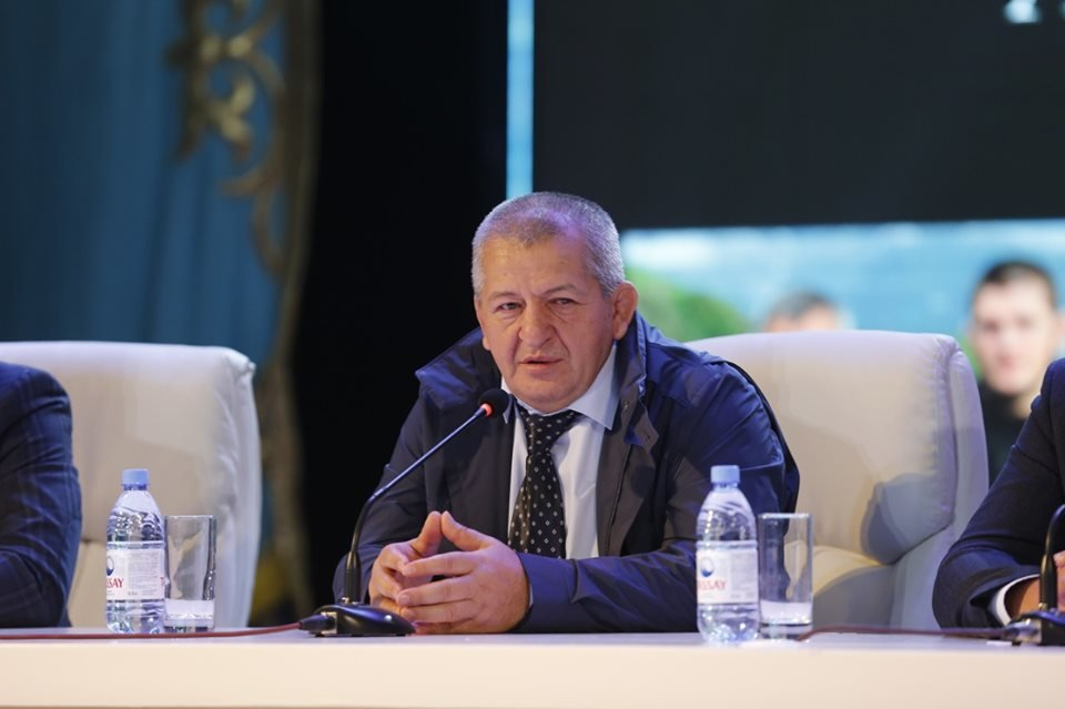 Отец и тренер Хабиба Нурмагомедова встретился с молодежью Атырау (фото), фото-1