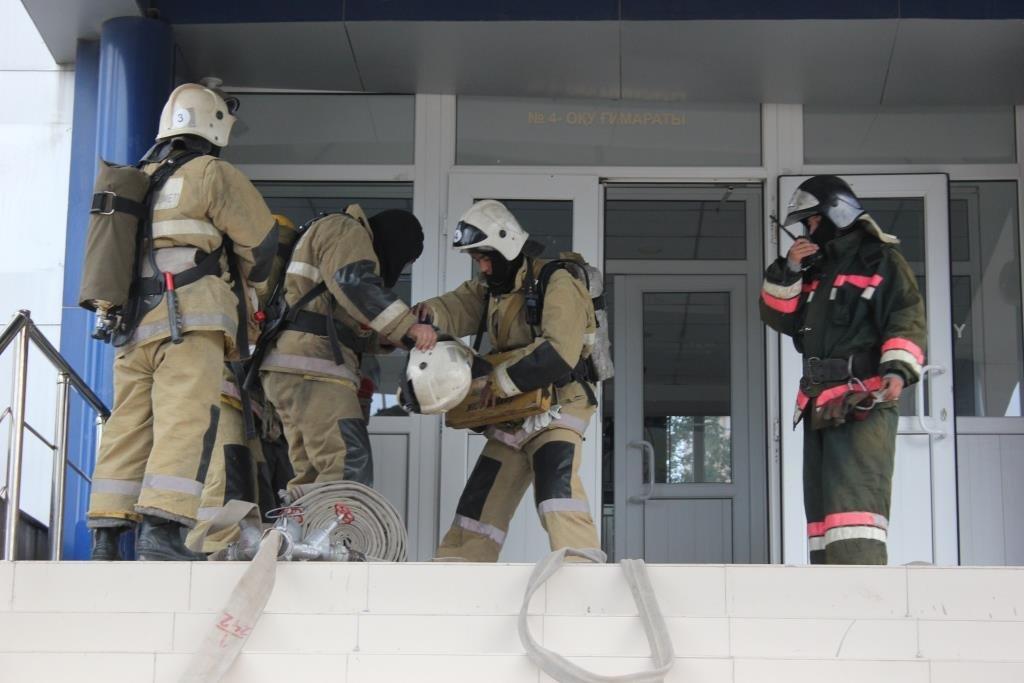 Университет «загорелся» в Атырау (фото), фото-6