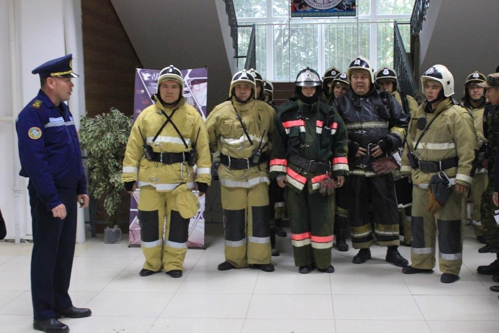 Университет «загорелся» в Атырау (фото), фото-11