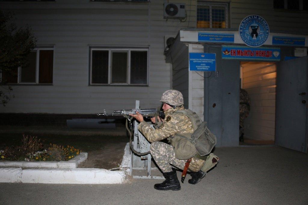 Учения по противодействию диверсантам прошли в Атырауской области (фото), фото-5