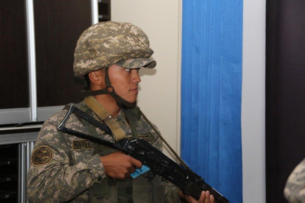 Учения по противодействию диверсантам прошли в Атырауской области (фото), фото-2
