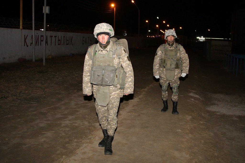 Учения по противодействию диверсантам прошли в Атырауской области (фото), фото-1