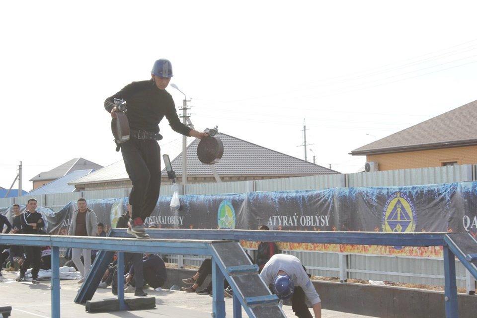 Соревнования пожарных прошли в Атырау (фото), фото-2