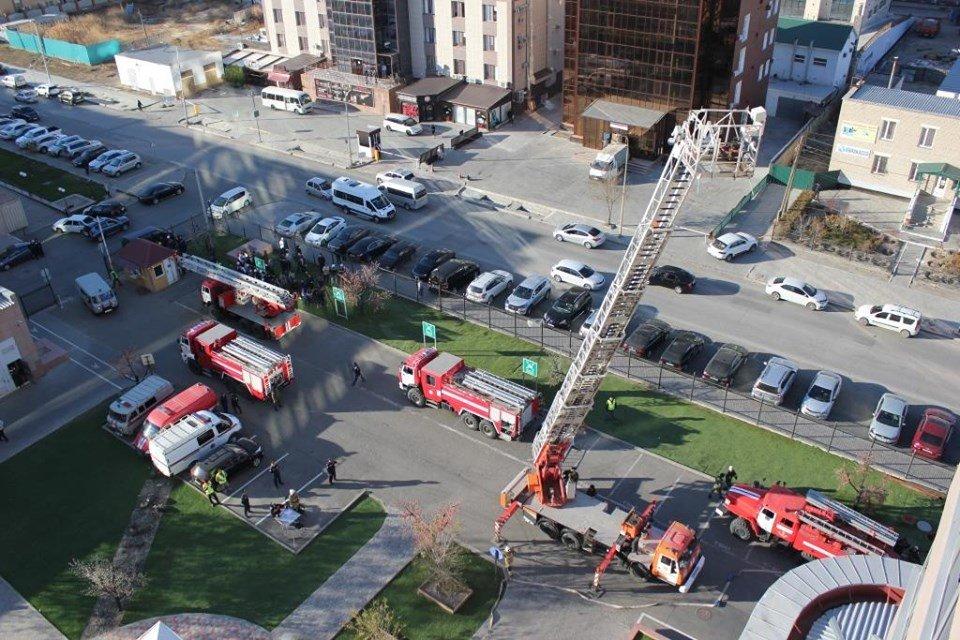 В Атырау пожарные «тушили» гостиницу (фото), фото-7