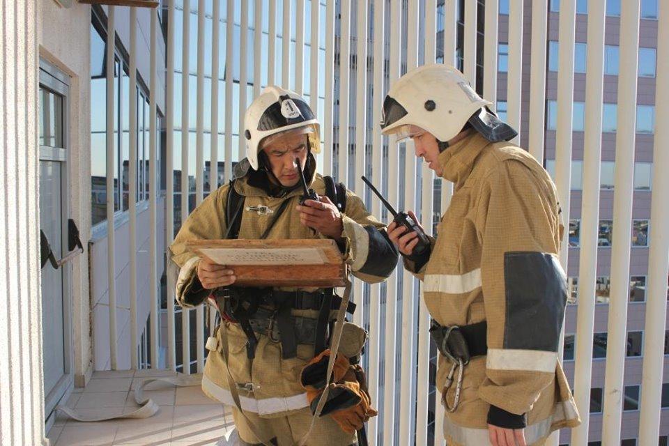 В Атырау пожарные «тушили» гостиницу (фото), фото-8