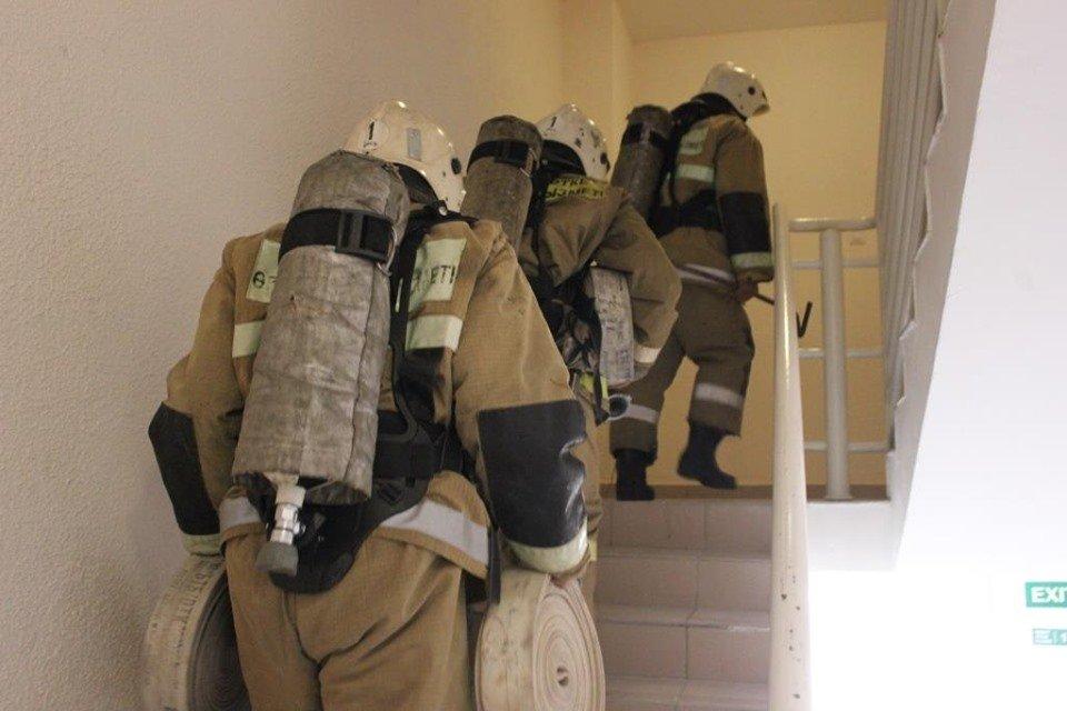 В Атырау пожарные «тушили» гостиницу (фото), фото-5