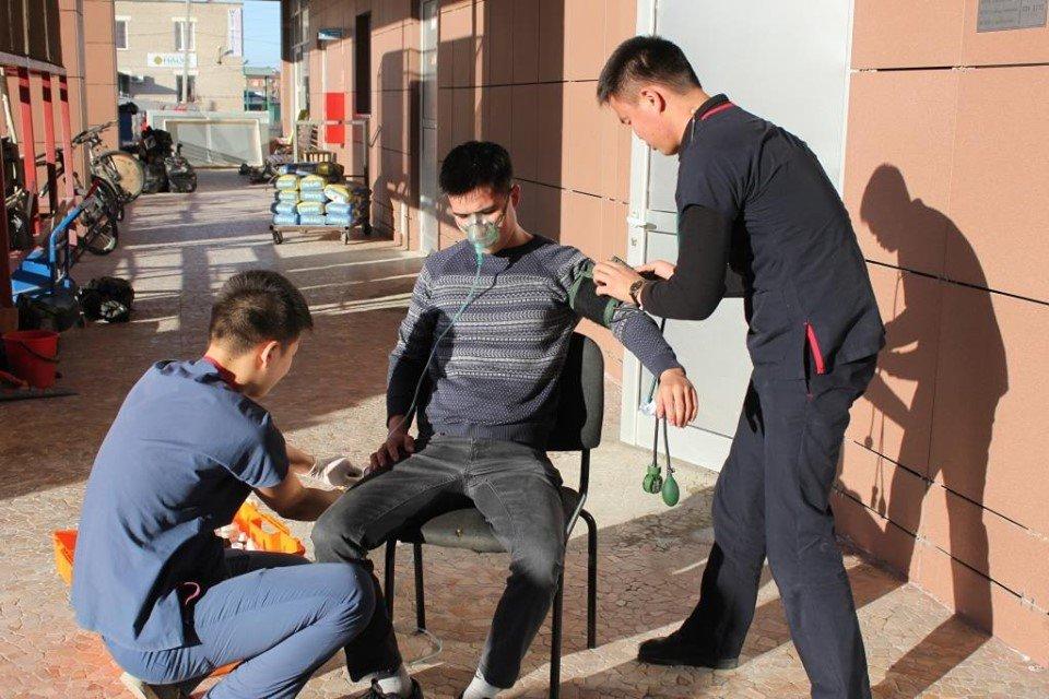 В Атырау пожарные «тушили» гостиницу (фото), фото-11