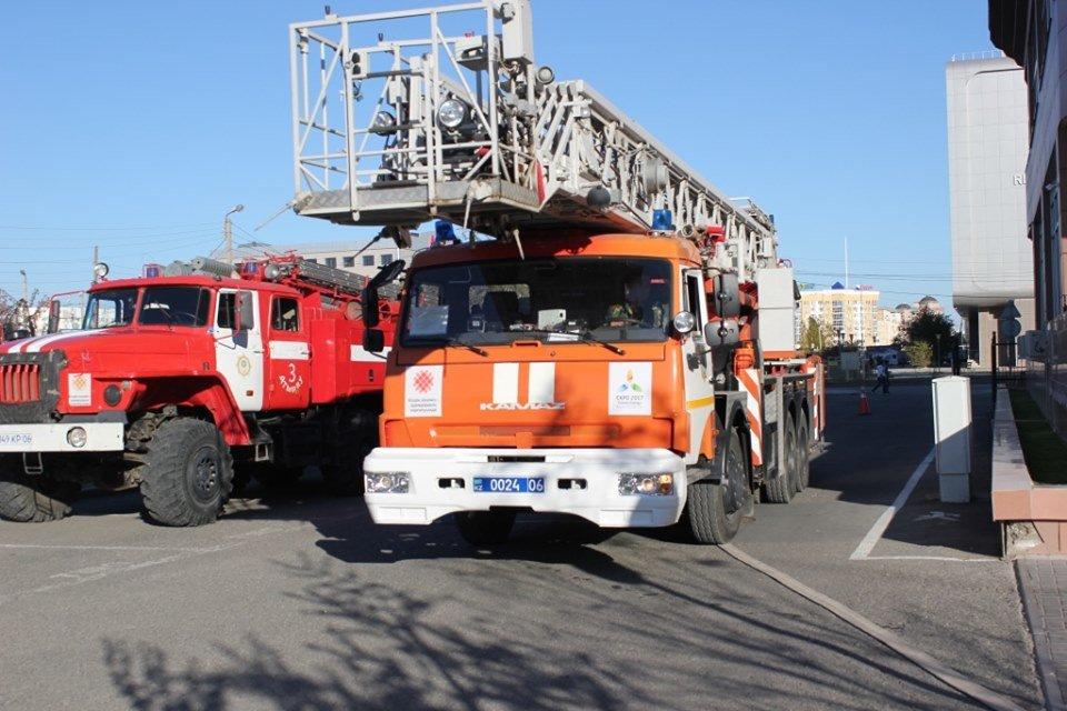 В Атырау пожарные «тушили» гостиницу (фото), фото-3