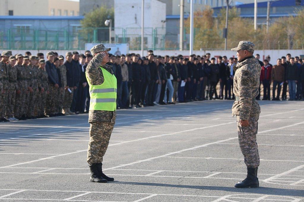 Атырауские военные показали подросткам армию (фото), фото-5