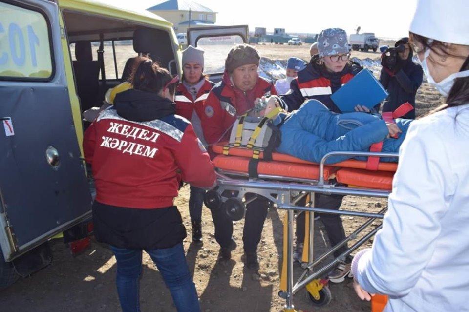 Республиканские учения спасателей проходят в Атырауской области (фото), фото-6