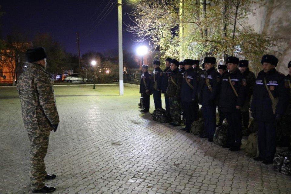 Республиканские учения спасателей проходят в Атырауской области (фото), фото-2