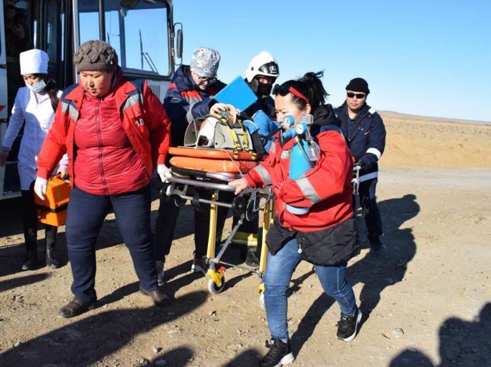 Республиканские учения спасателей проходят в Атырауской области (фото), фото-5