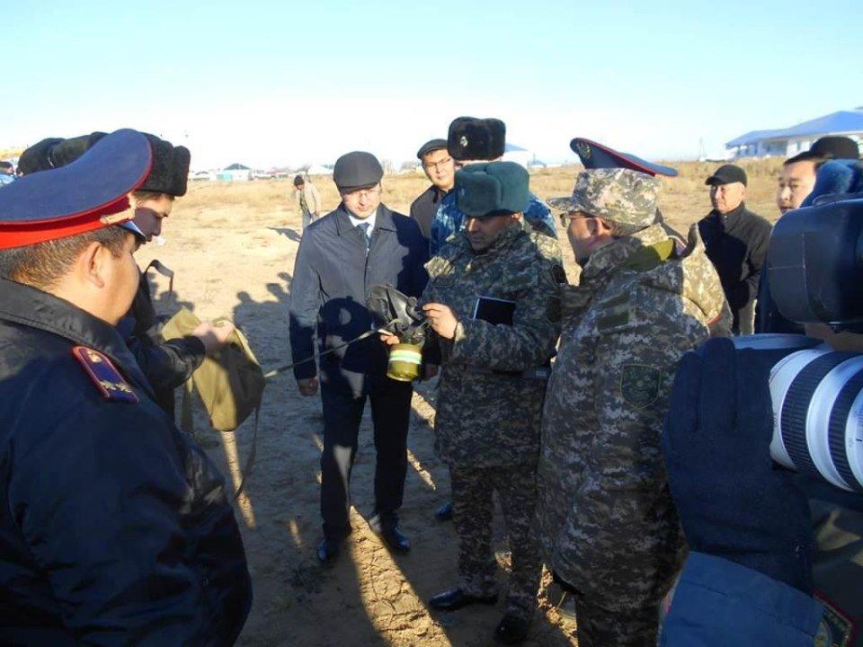 Республиканские учения спасателей проходят в Атырауской области (фото), фото-11