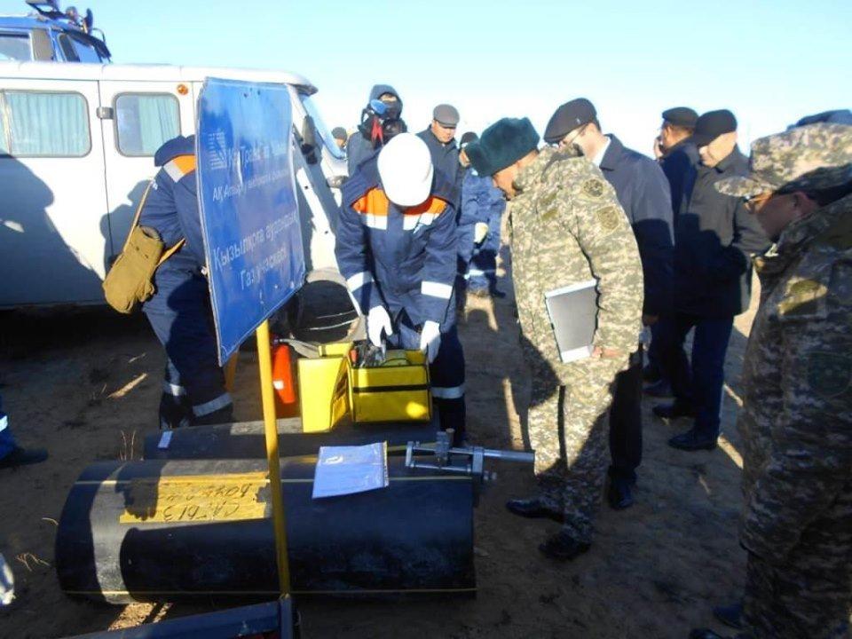 Республиканские учения спасателей проходят в Атырауской области (фото), фото-8