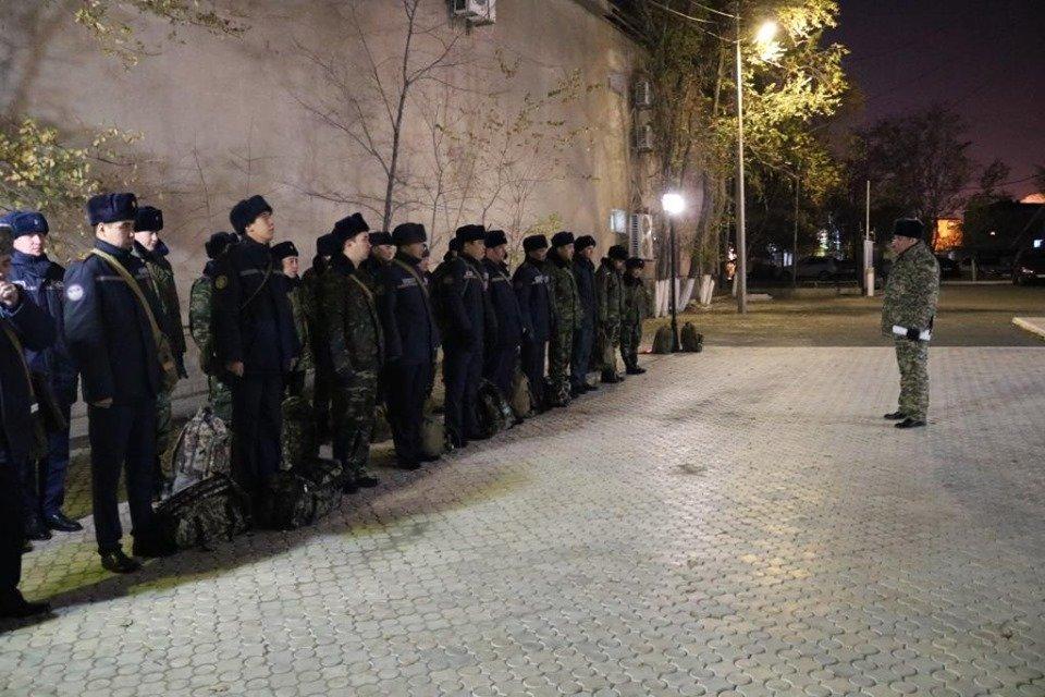 Республиканские учения спасателей проходят в Атырауской области (фото), фото-1