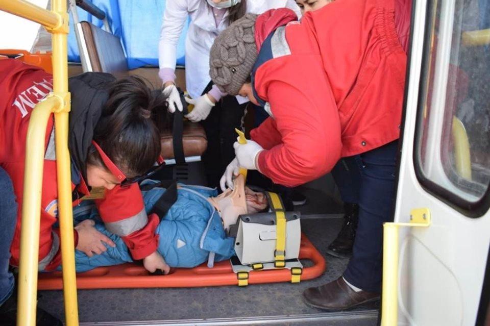 Республиканские учения спасателей проходят в Атырауской области (фото), фото-3