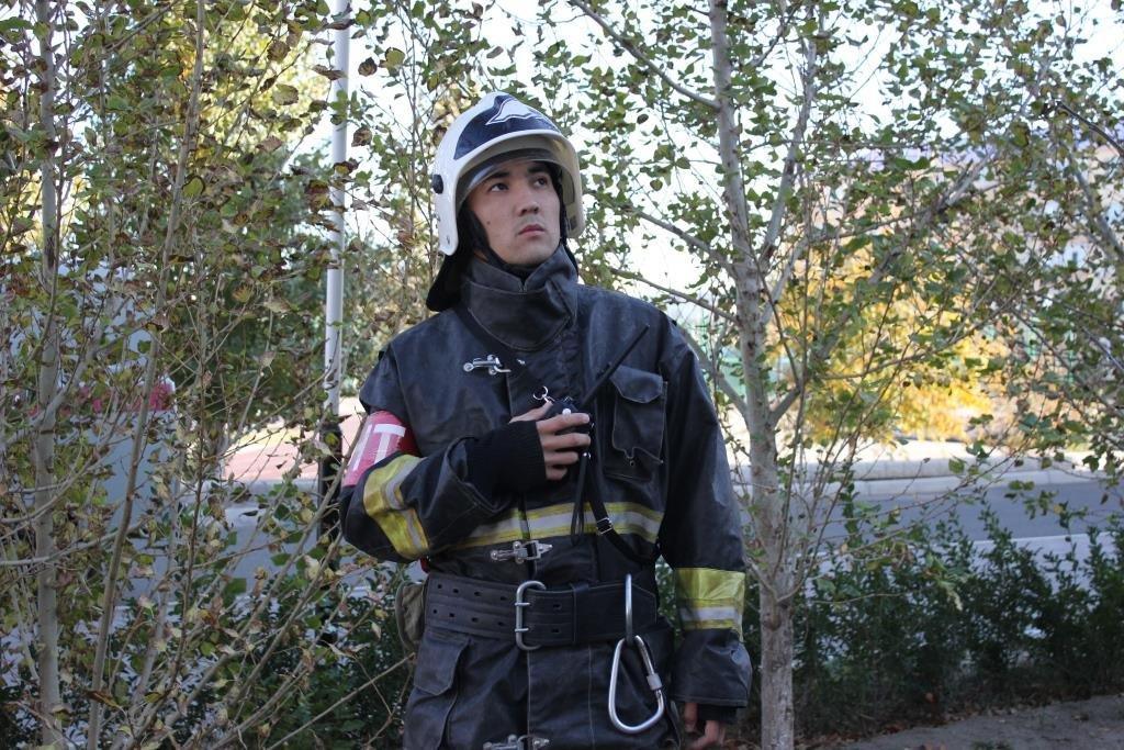 Пожарные Атырау провели учения в НИШ (фото), фото-3