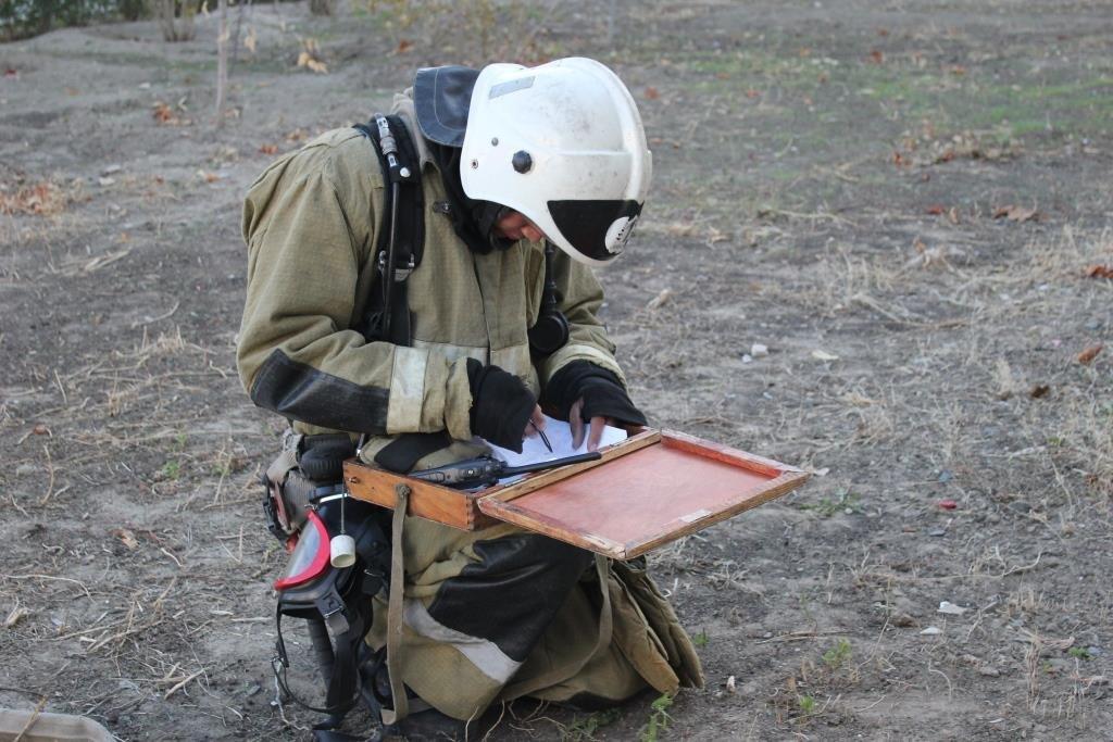 Пожарные Атырау провели учения в НИШ (фото), фото-4