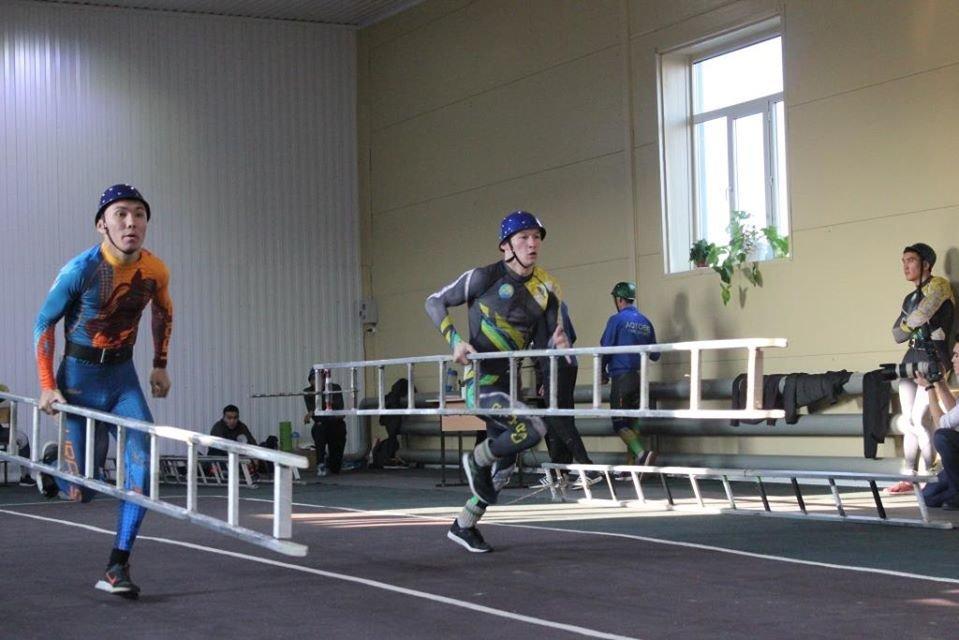 Турнир по пожарно-спасательному спорту прошёл в Атырау (фото), фото-19
