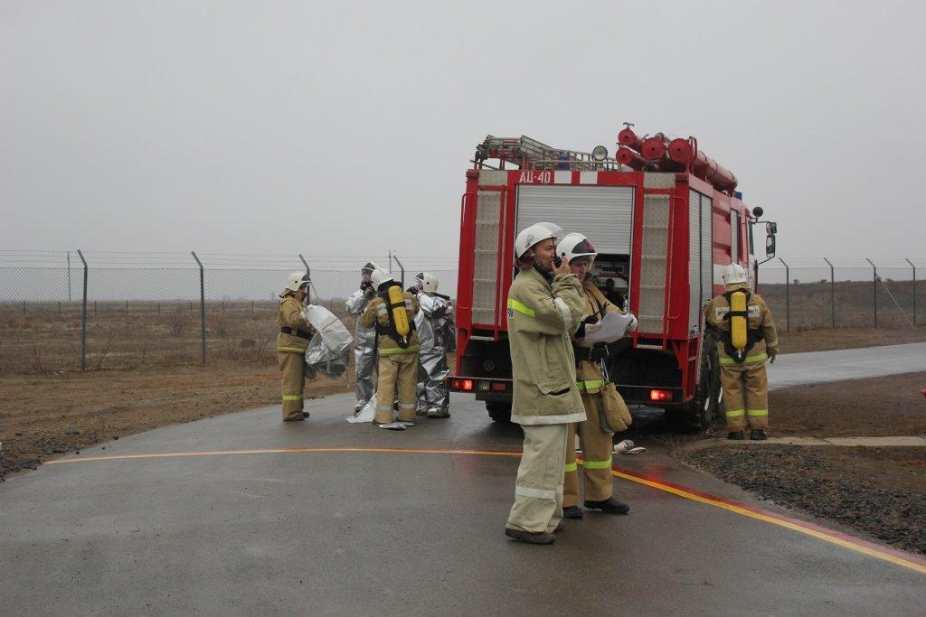 Пожарные учения на нефтяном хранилище прошли в Атырауской области (фото), фото-4
