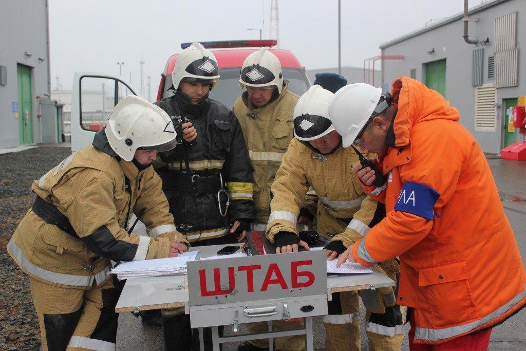Пожарные учения на нефтяном хранилище прошли в Атырауской области (фото), фото-12