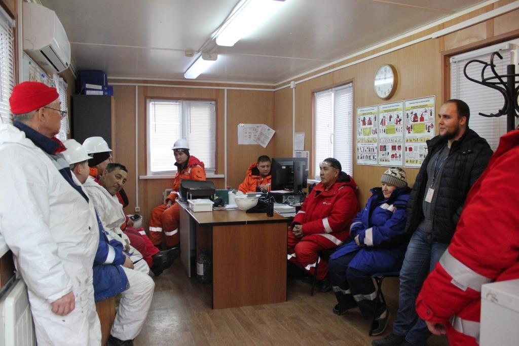 Пожарные учения на нефтяном хранилище прошли в Атырауской области (фото), фото-1
