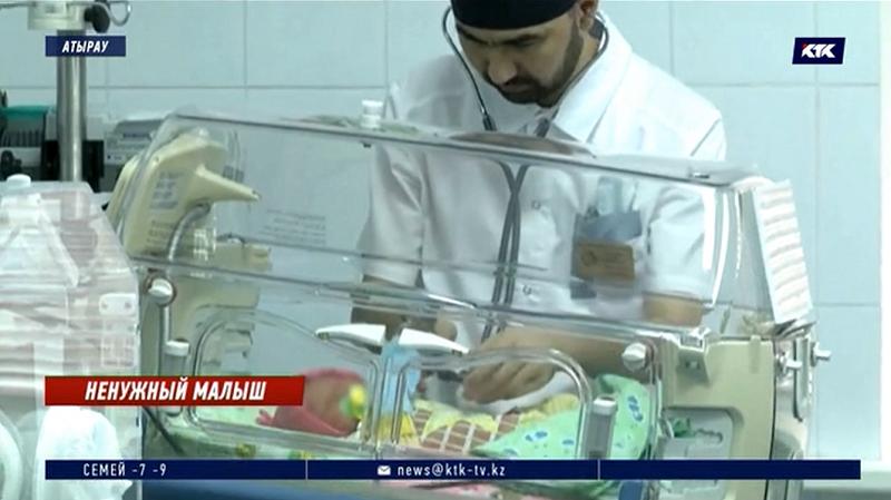Имя брошенной новорожденной в Атырау дал реанимировавший её врач, фото-1