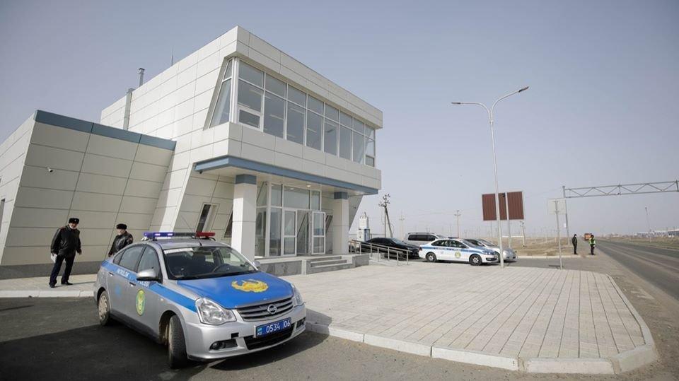 Санитарные посты откроют в зданиях новых пунктов полиции на въездах в Атырау, фото-1