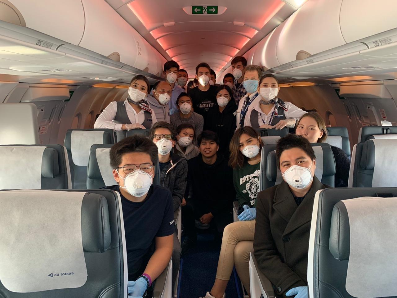 Air Astana помогла кадетам Морской академии КБТУ добраться домой из Европы , фото-2