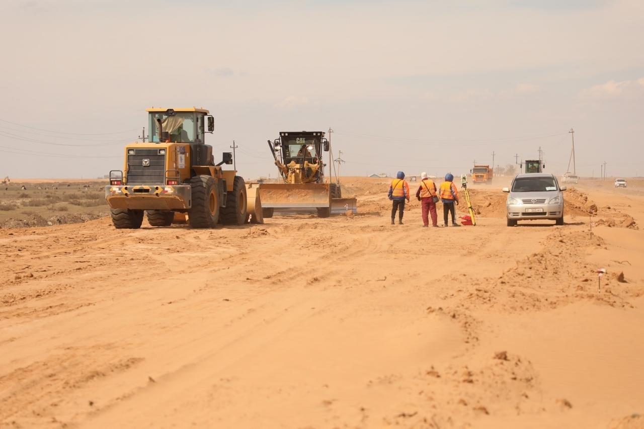 Скляр ознакомился со строительством автодороги Актобе - Атырау - РФ, фото-1