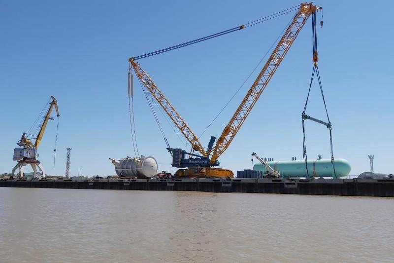 В Атырау после пяти лет простоя снова заработал речной порт, фото-3, inform.kz