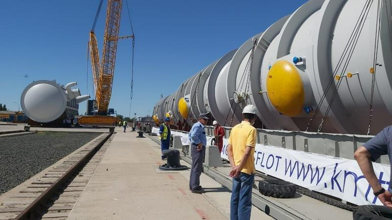 В Атырау после пяти лет простоя снова заработал речной порт, фото-2, inform.kz