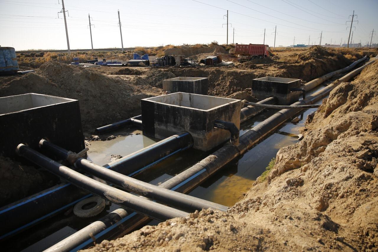 Новые канализационно-очистные сооружения запустят осенью в Атырау, фото-1