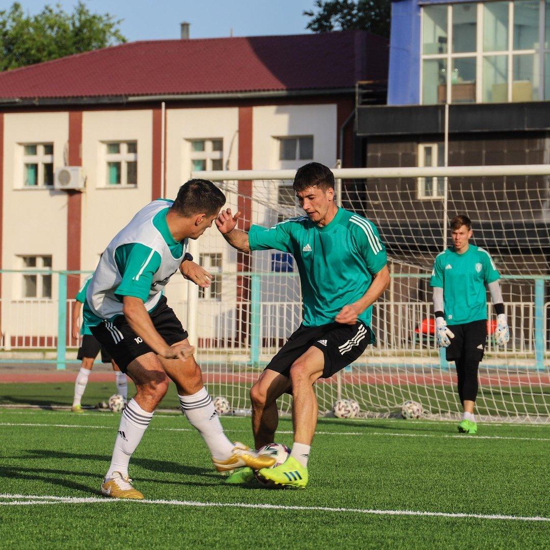 Тренировки ФК «Атырау» показали перед стартом сезона Первой лиги, фото-1
