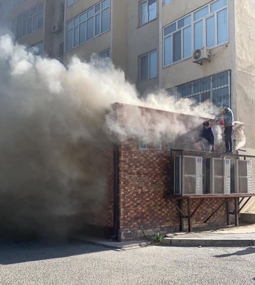 Ресторан горел в Атырау, фото-1