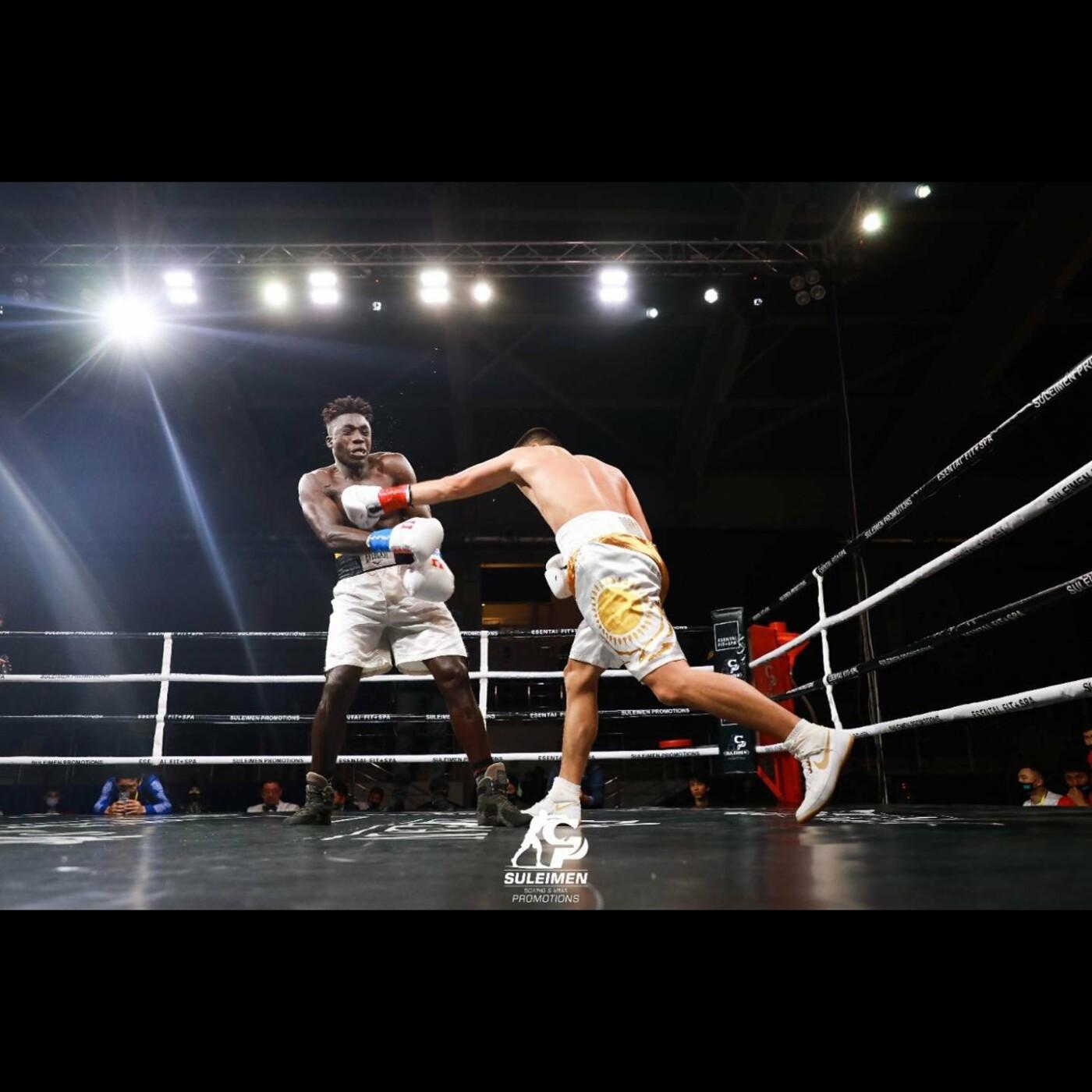 Вечер профессионального бокса провели в Атырау, фото-1